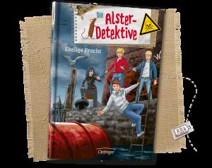 """Buch-Titelseite von """" Ekelige Fracht"""""""