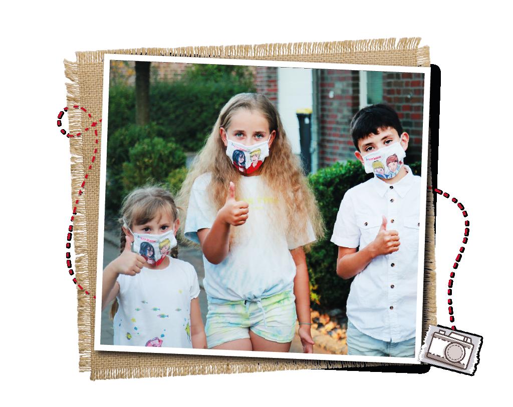 Nase- und Mundbedeckungen