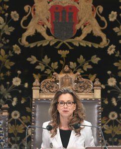 Präsidentin Carola Veit