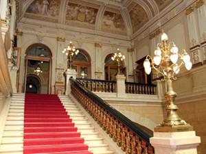 Das Treppenhaus der Bürgerschaft